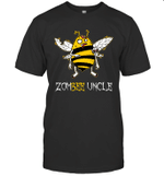 Zombee Family Halloween Zombie Bee Uncle T-shirt Tee