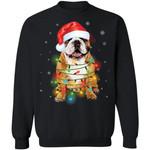 Bulldog Santa Hat Dog Christmas Sweater Xmas Gift Idea TT11-99Paws-com