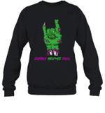 Zombie Brother Rock Halloween Crewneck Sweatshirt Family Tee