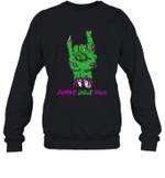 Zombie Uncle Rock Halloween Crewneck Sweatshirt Family Tee
