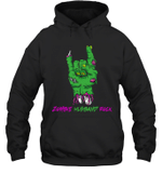 Zombie Husband Rock Halloween Hoodie Sweatshirt Family Tee