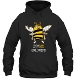 Zombee Family Halloween Zombie Bee Girlfriend Hoodie Sweatshirt Tee
