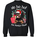 Ho Ho Ho Rottweiler Christmas Sweater It's Santa Paws Xmas Gift TT11-99Paws-com