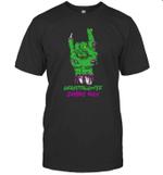 Zombie Granddaughter Rock Halloween T-shirt Family Tee