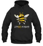 Zombee Family Halloween Zombie Bee Husband Hoodie Sweatshirt Tee