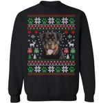 Rottweiler Dog Ugly Sweater Funny Christmas Gift Idea MN11-99Paws-com