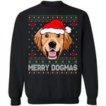 Golden Retriever Merry Dogmas Dog Ugly Sweater Funny Xmas Gift Idea VA11-99Paws-com