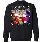 Norwegian Forest Cat Stocking Christmas Sweater Funny Xmas Gift HA11-99Paws-com