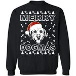Golden Retriever Merry Dogmas Sweatshirt Xmas Gift For Dog Lover VA11-99Paws-com