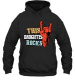 This Family Rock Daughter Hoodie Sweatshirt