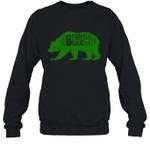 Papa Bear Hunting Uncle Family Crewneck Sweatshirt