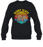 Sloth Funny Family Daddy Crewneck Sweatshirt