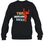 This Family Rock Bonus Mom Crewneck Sweatshirt