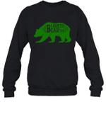 Papa Bear Hunting Auntie Family Crewneck Sweatshirt