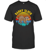 Sloth Funny Family Daddy T-shirt