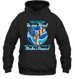 The Voice In My Head Telling Me To Go Fishing At Martha's Vineyard Hoodie Sweatshirt