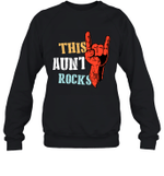 This Family Rock Aunt Crewneck Sweatshirt