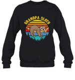 Sloth Funny Family Grandpa Crewneck Sweatshirt
