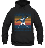 Aren t Many Things I Love Than Baseball But Being Grandpa Family Hoodie Sweatshirt
