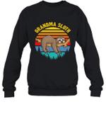 Sloth Funny Family Grandma Crewneck Sweatshirt