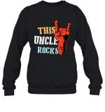 This Family Rock Uncle Crewneck Sweatshirt