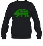 Papa Bear Hunting Nana Family Crewneck Sweatshirt