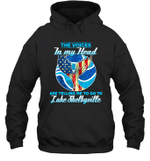 The Voice In My Head Telling Me To Go Fishing At Lake Shelbyville Hoodie Sweatshirt