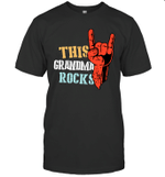 This Family Rocks Grandma T-shirt Tee