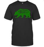 Papa Bear Hunting Mama Family T-shirt