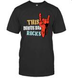 This Family Rock Bonus Dad T-shirt