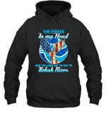 The Voice In My Head Telling Me To Go Fishing At Kobuk River Hoodie Sweatshirt