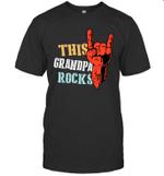 This Family Rocks Grandpa T-shirt Tee