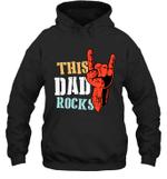 This Family Rock Dad Hoodie Sweatshirt