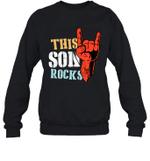 This Family Rock Son Crewneck Sweatshirt
