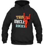 This Family Rock Uncle Hoodie Sweatshirt