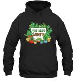 Pot Head Family Gardening Auntie Hoodie Sweatshirt