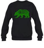 Papa Bear Hunting Mama Family Crewneck Sweatshirt