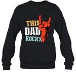 This Family Rock Dad Crewneck Sweatshirt