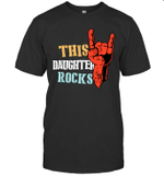 This Family Rocks Daughter T-shirt Tee