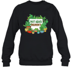 Pot Head Family Gardening Mommy Crewneck Sweatshirt