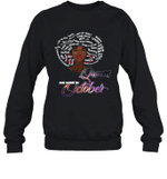 African Queens Are Born In October Birthday Crewneck Sweatshirt