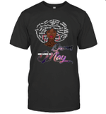 African Queens Are Born In May Birthday T-shirt