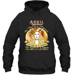 April Woman The Soul Of A Mermaid  Birthday Hoodie Sweatshirt