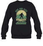 Hide And Seek Legends Are Born In January Birthday Crewneck Sweatshirt