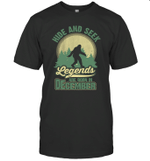 Hide And Seek Legends Are Born In December Birthday T-shirt