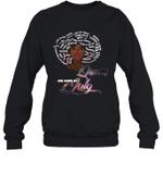 African Queens Are Born In July Birthday Crewneck Sweatshirt
