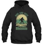 Hide And Seek Legends Are Born In March Birthday Hoodie Sweatshirt