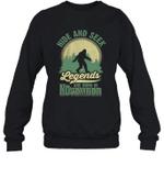 Hide And Seek Legends Are Born In November Birthday Crewneck Sweatshirt