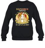 December Woman The Soul Of A Mermaid Birthday Crewneck Sweatshirt