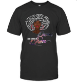 African Queens Are Born In June Birthday T-shirt